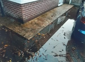 BLocked drains around the home