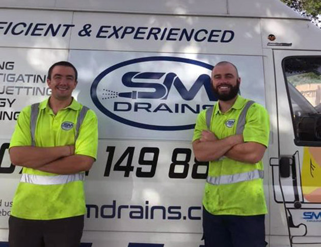 Meet Paul & Joe. The Sm Drains specialist team